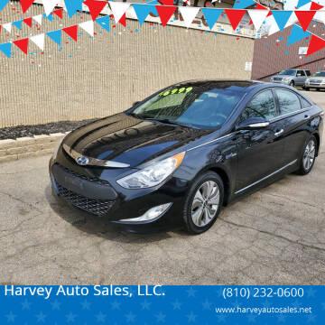 2014 Hyundai Sonata Hybrid for sale at Harvey Auto Sales, LLC. in Flint MI