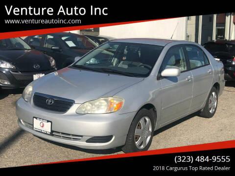 2006 Toyota Corolla for sale at Venture Auto Inc in South Gate CA