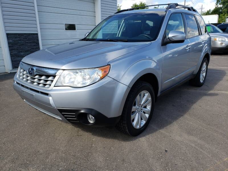 2013 Subaru Forester for sale at Finish Line Auto Sales Inc. in Lapeer MI
