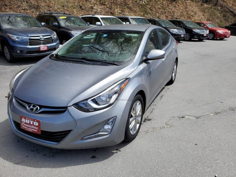2014 Hyundai Elantra for sale at AUTO CONNECTION LLC in Springfield VT