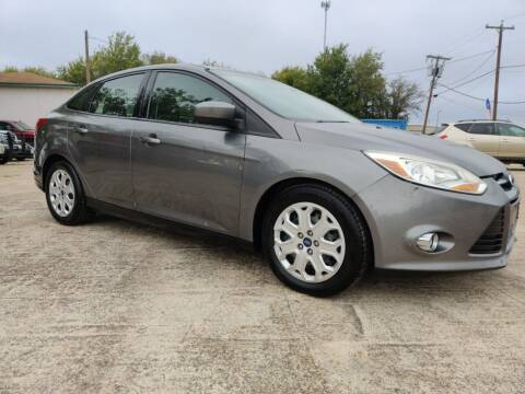 2012 Ford Focus for sale at AI MOTORS LLC in Killeen TX
