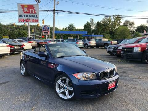 2010 BMW 1 Series for sale at KB Auto Mall LLC in Akron OH