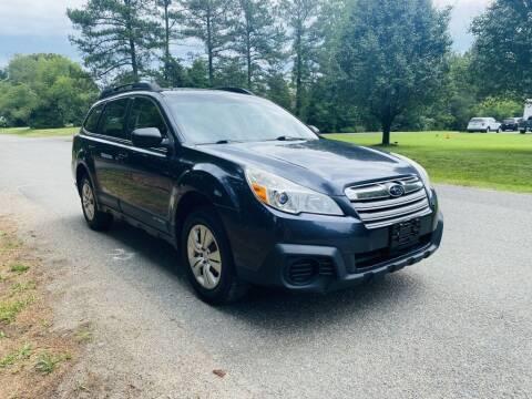 2013 Subaru Outback for sale at H&C Auto in Oilville VA