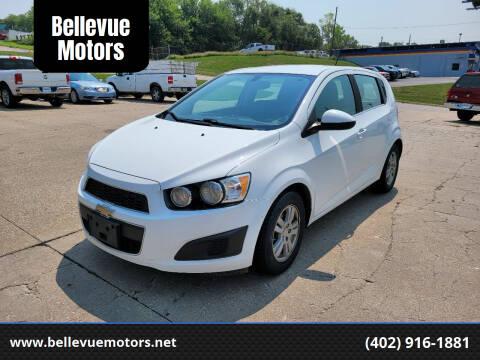 2016 Chevrolet Sonic for sale at Bellevue Motors in Bellevue NE