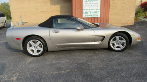1999 Chevrolet Corvette for sale at LENTZ USED VEHICLES INC in Waldo WI