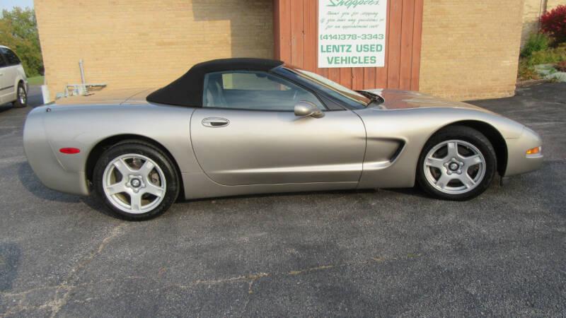 1999 Chevrolet Corvette for sale at LENTZ USED VEHICLES INC in Waldo WI