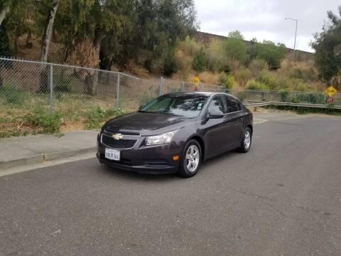 2014 Chevrolet Cruze for sale at Gateway Motors in Hayward CA