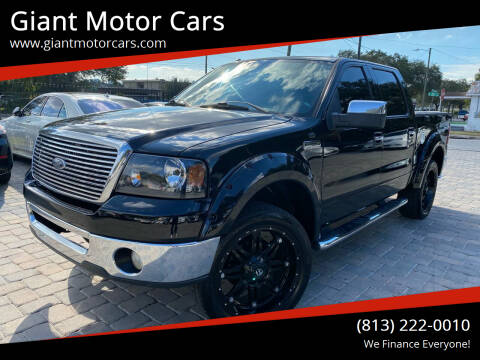 2007 Ford F-150 for sale at Giant Motor Cars in Tampa FL