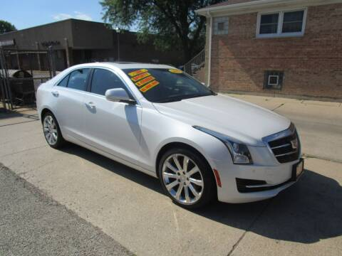 2015 Cadillac ATS for sale at RON'S AUTO SALES INC in Cicero IL
