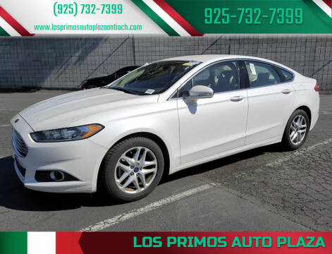 2014 Ford Fusion for sale at Los Primos Auto Plaza in Antioch CA