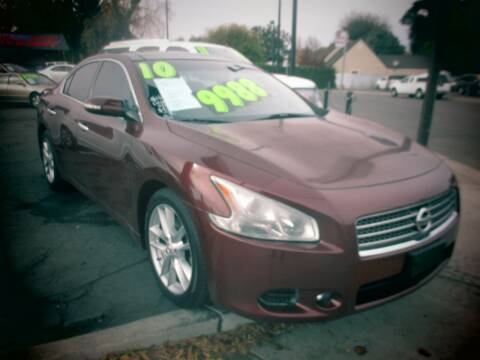 2010 Nissan Maxima for sale at Quick Auto Sales in Modesto CA