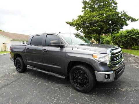2016 Toyota Tundra for sale at SUPER DEAL MOTORS 441 in Hollywood FL