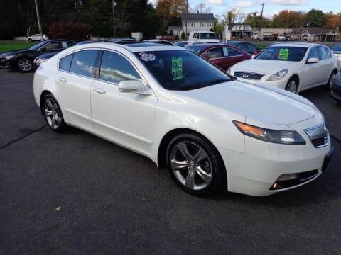 2012 Acura TL for sale at BETTER BUYS AUTO INC in East Windsor CT