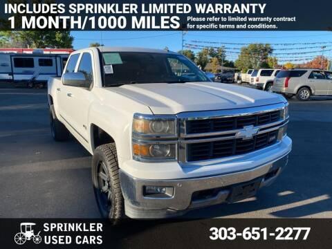2014 Chevrolet Silverado 1500 for sale at Sprinkler Used Cars in Longmont CO