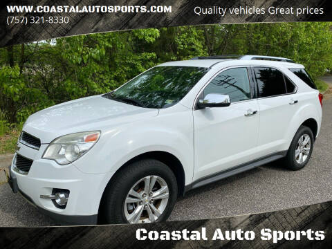 2013 Chevrolet Equinox for sale at Coastal Auto Sports in Chesapeake VA