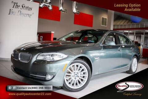 2012 BMW 5 Series for sale at Quality Auto Center of Springfield in Springfield NJ