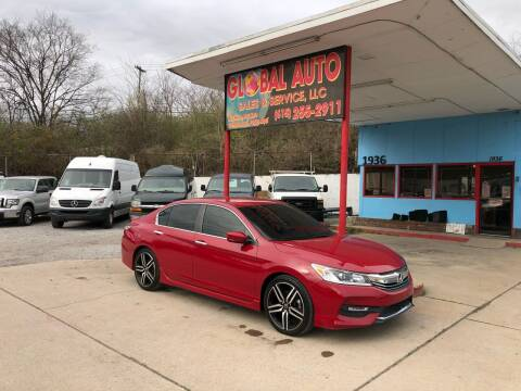 2017 Honda Accord for sale at Global Auto Sales and Service in Nashville TN