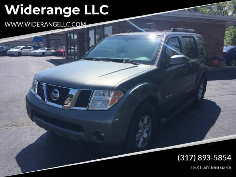 2005 Nissan Pathfinder for sale at Widerange LLC in Greenwood IN