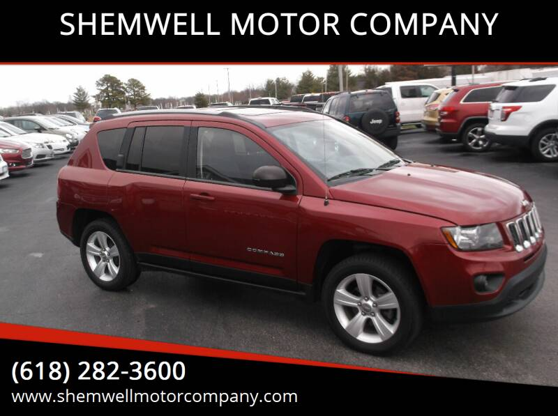 2016 Jeep Compass for sale at SHEMWELL MOTOR COMPANY in Red Bud IL