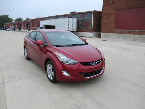 2012 Hyundai Elantra for sale at Perfection Auto Detailing & Wheels in Bloomington IL