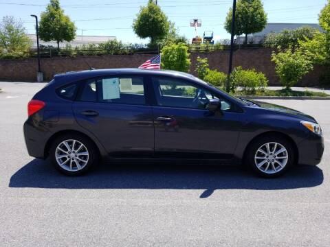 2014 Subaru Impreza for sale at Lehigh Valley Autoplex, Inc. in Bethlehem PA