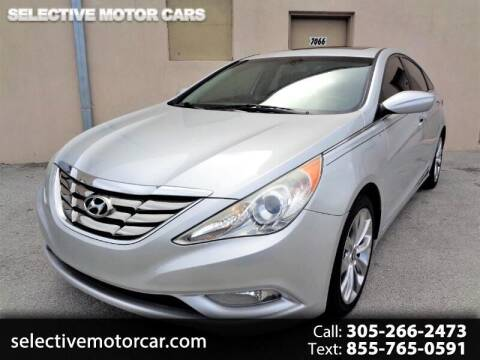 2012 Hyundai Sonata for sale at Selective Motor Cars in Miami FL