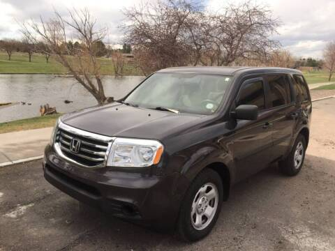 2015 Honda Pilot for sale at QUEST MOTORS in Englewood CO