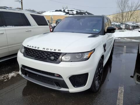2016 Land Rover Range Rover Sport for sale at AW Auto & Truck Wholesalers  Inc. in Hasbrouck Heights NJ