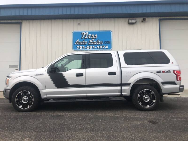 2018 Ford F-150 for sale at NESS AUTO SALES in West Fargo ND