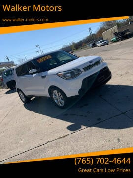 2015 Kia Soul for sale at Walker Motors in Muncie IN