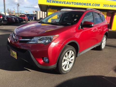 2013 Toyota RAV4 for sale at New Wave Auto Brokers & Sales in Denver CO