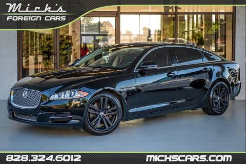 2011 Jaguar XJL for sale at Mich's Foreign Cars in Hickory NC