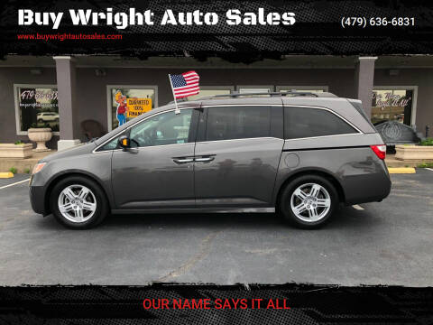 2013 Honda Odyssey for sale at Buy Wright Auto Sales in Rogers AR