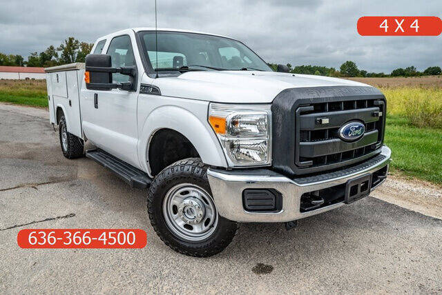 2016 Ford F-250 Super Duty for sale at Fruendly Auto Source in Moscow Mills MO