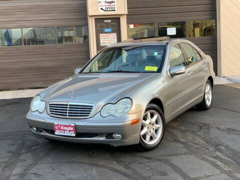 2003 Mercedes-Benz C-Class for sale at Eagle Auto Sales LLC in Holbrook MA