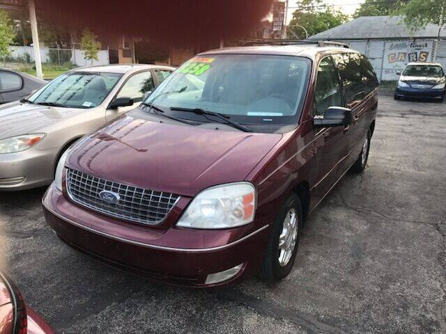 2006 Ford Freestar for sale at GREAT AUTO RACE in Chicago IL