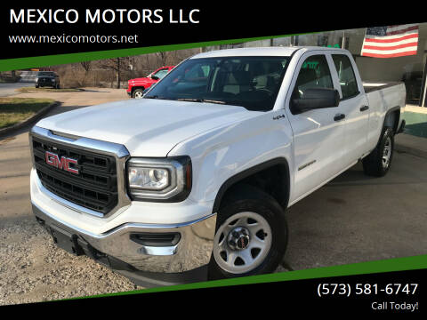 2016 GMC Sierra 1500 for sale at MEXICO MOTORS LLC in Mexico MO