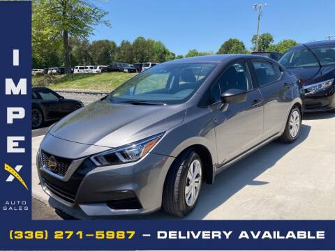 2020 Nissan Versa for sale at Impex Auto Sales in Greensboro NC