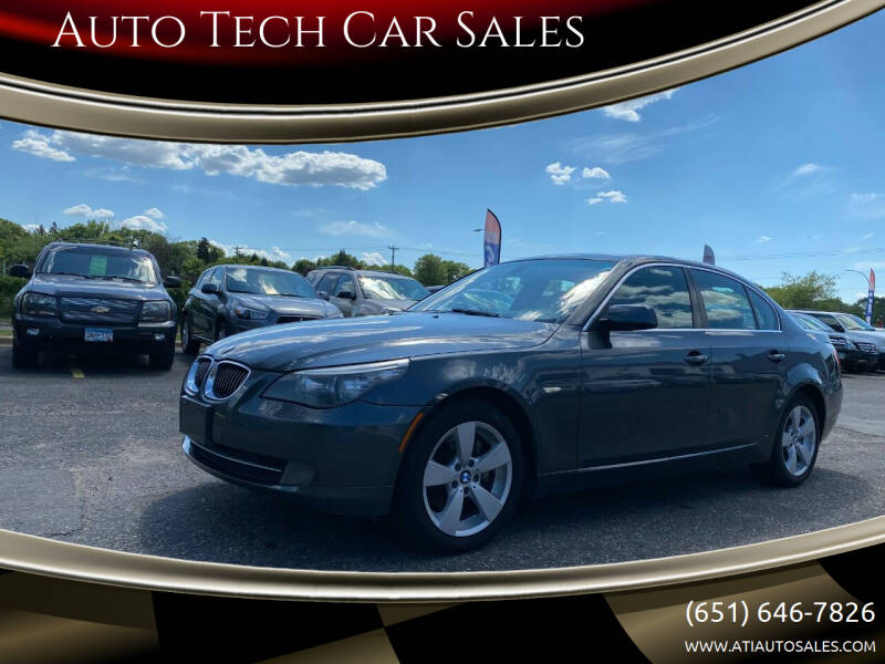 2008 BMW 5 Series for sale at Auto Tech Car Sales in Saint Paul MN