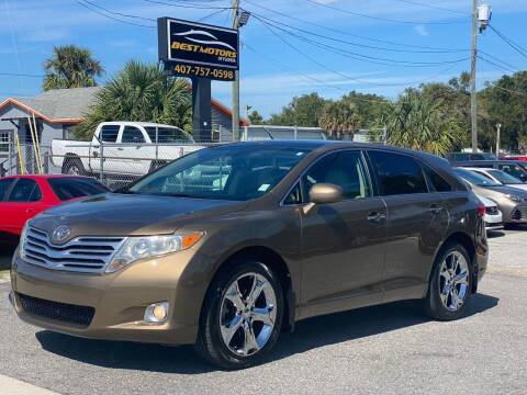 2010 Toyota Venza for sale at BEST MOTORS OF FLORIDA in Orlando FL