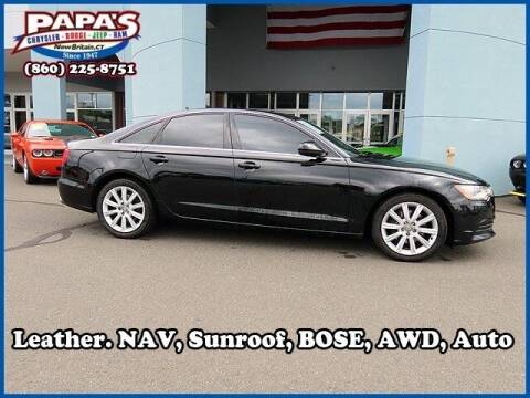 2013 Audi A6 for sale at Papas Chrysler Dodge Jeep Ram in New Britain CT