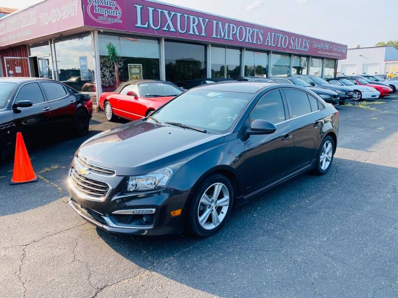 2015 Chevrolet Cruze for sale at LUXURY IMPORTS AUTO SALES INC in North Branch MN