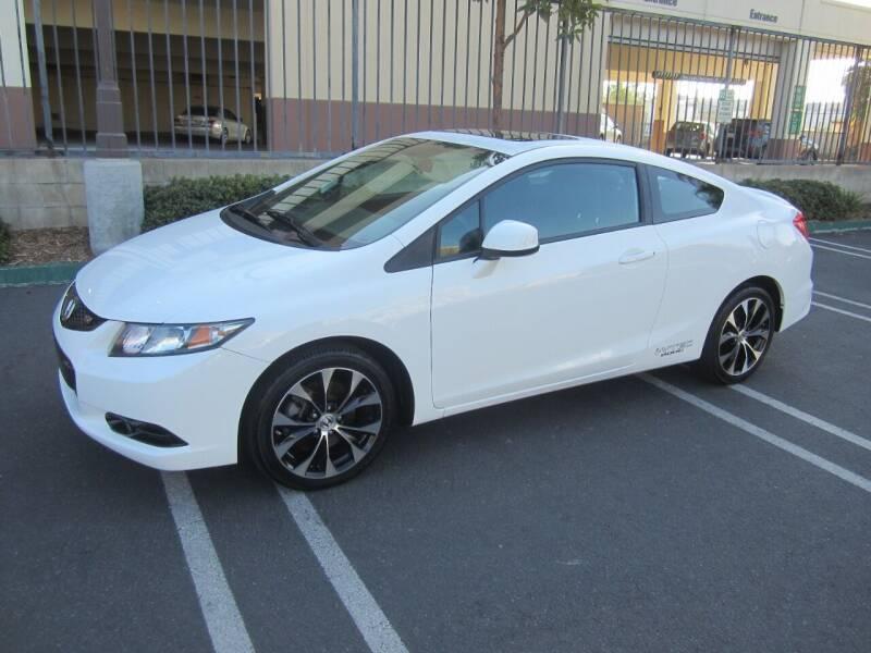 2013 Honda Civic for sale at PREFERRED MOTOR CARS in Covina CA