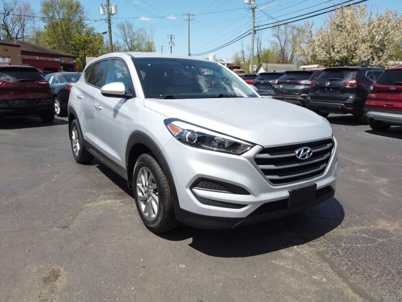 2018 Hyundai Tucson for sale at RS Motors in Falconer NY