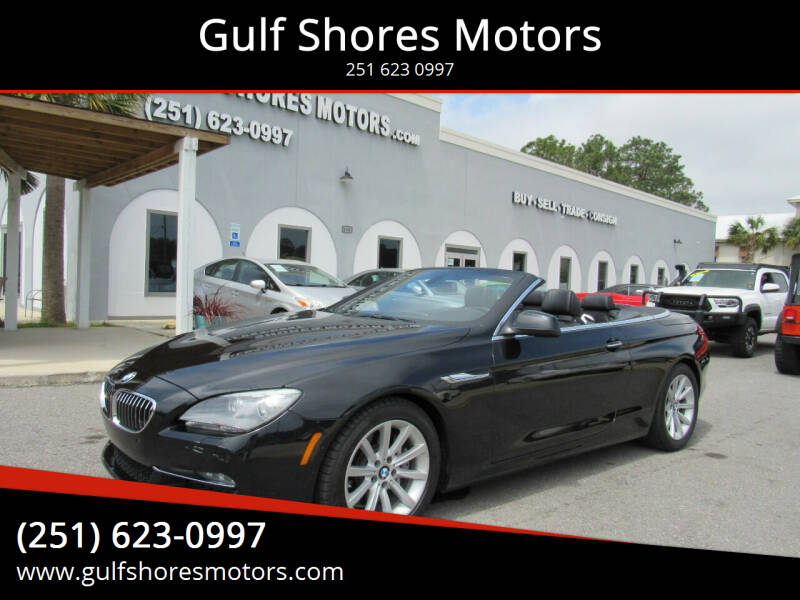 2012 BMW 6 Series for sale at Gulf Shores Motors in Gulf Shores AL