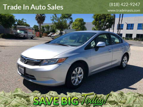 2012 Honda Civic for sale at Trade In Auto Sales in Van Nuys CA