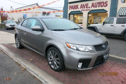2011 Kia Forte Koup for sale at PARK AVENUE AUTOS in Collingswood NJ