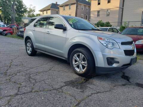 2012 Chevrolet Equinox for sale at Devaney Auto Sales & Service in East Providence RI