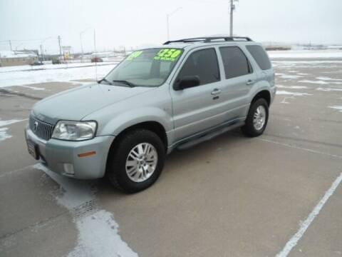 2006 Mercury Mariner for sale at Twin City Motors in Scottsbluff NE