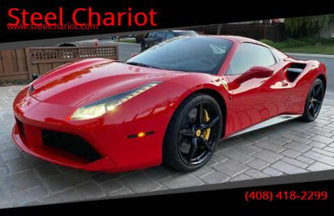 2017 Ferrari 488 Spider for sale at Steel Chariot in San Jose CA